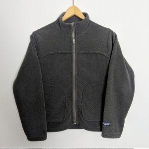 Patagonia Synchilla Zip-Up Gray Fleece Jacket